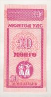 Mongolia 10 Mongo (1993) Unc - Mongolia