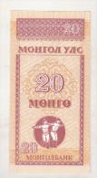 Mongolia 20 Mongo (1993) Unc - Mongolia