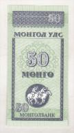 Mongolia 50 Mongo (1993) Unc - Mongolia