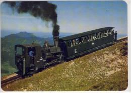 ST. WOLFGANG - Fahrt Zum Schafberggipfel, Zahnradbahn, Rack Railway, Crémaillère, Ferrovia A Cremagliera - St. Wolfgang