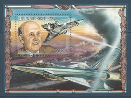 """Guinée Bloc YT 68 """" Marcel Dassault """" 1986 Neuf** - Guinée (1958-...)"""