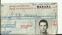 CUBA, HABANA  --  DRIVING LICENCE   PERMIS DE CONDUIRE - Historische Dokumente