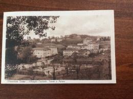 CHIANCIANO TERME - Alberghi Centrale, Terme E Palme - Cartolina FP V 1947 - Italia