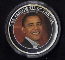 Barack Obama. 2007. 40 Mm .32 Gr. - Monnaies & Billets