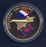 Concorde . The Legend Medaille  .32g .40mm - Monnaies & Billets