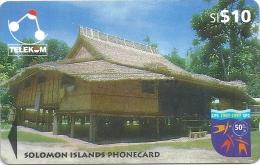 Solomon - SOL-17 Sigana Village 10$ - 04SIC - Used - Solomon Islands