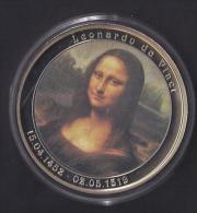 Leonard De Vinci . La Joconde . 2007. 50mm. 54gr. - Monnaies & Billets