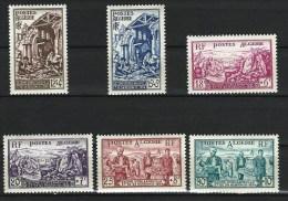 """Algerie YT 319 à  324 """" Sinistrés D'Orléansville """" 1954 Neuf** - Neufs"""