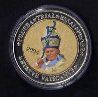 PAPE Jean Paul II  .2004.  40mm  .28gr - Monnaies & Billets