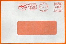 78 VERNOUILLET  PROTECTION DES YEUX      1962 Devant De Lettre N° EMA 3716 - Freistempel