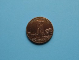 St. MARIABURG Katerheidemolen - UP WITH PEOPLE 100 Uppies - Anno 1982 / 12 Gram ( Bronskleur 30 Mm. ) !! - Gemeentepenningen