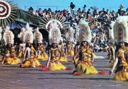 CPSM  Polynésie  Francaise  Tahiti  Folklore Danse - Polynésie Française