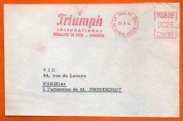 PARIS MAILLOTS DE BAIN  LINGERIE 1964 Devant De Lettre N° EMA 3733 - Freistempel