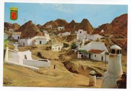 Espagne-près Grenade--GUADIX--1978--Cuevas ,cpm N° 41 Série 45 éd Zerkowitz--joli Timbre Au Verso(Jaime Balmes) - Espagne