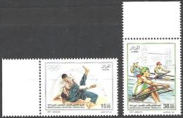 2012   Algérie  N°   Nf** .Série Complète  Jeux De La XXX éme Olympiade Londres 2012 . - Argelia (1962-...)