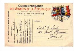 Correspondance Des ARMEES De La REPUBLIQUE Commandant Du 27e Règiment D´Artillerie 2é Batterie De 1919