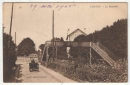 78 - CHATOU - La Passerelle - Mercier - ND 39 - 1908 - Chatou