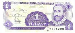 Nicaragua - Pick 167 - 1 Centavo 1991 - Unc - Nicaragua