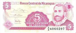 Nicaragua - Pick 168 - 5 Centavos 1991 - Unc - Nicaragua