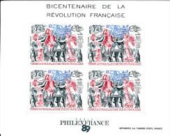 TAAF BLOC N°1 BICENTENAIRE DE LA REVOLUTION FRANCAISE  NEUF XX - Blocs-feuillets