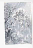 DOMREMY LA PUCELLE (88-Vosges) Les Voix, Jeanne D'Arc, Bergère Et Moutons, Dessin De Robida, Ed. E. Baudelot 1920 Enviro - Domremy La Pucelle