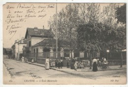 78 - CHATOU - L'Ecole Maternelle - Cluzaud ND 160 - 1909 - Chatou