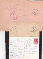 6 Documents Poste Navale Ou Bureau Naval ( 64, Toulon, Amirauté, Cherbourg...) - Marcophilie (Lettres)