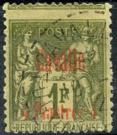 Cavale (1893) N 8 (o) Piquage A Cheval - Oblitérés