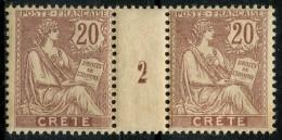 Crete (1902) Millesime 2 N 8 ** (Luxe) - Unused Stamps