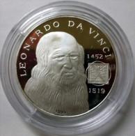 AC - SAHRAWI - SAHRAOUI -- WESTERN SAHARA -  LEONARDO DA VINCI 1000 PESATAS 1999 999 SILVER - Monete