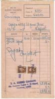 MB11 --- MARCA DA BOLLO -- SU DOCUMENTO DEL 23.3...1945.--- LUOGOTENENZA --- - Italia