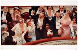 ALBERT GUILLAUME Les Retardataires SALON DE PARIS - Peintures & Tableaux