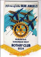 Fanion:   PENSACOLA - SUBURBAN WEST - USA     * ROTARY CLUB INTERNATIONAL * - Organizations