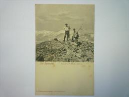 Les  PYRENEES  :  Sommet De L'ARBIZON   1917   -  Cliché  LEDORMEUR   XXXX - France