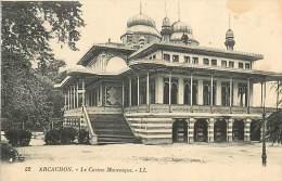 TC-TOA-16-52 : ARCACHON CASINO MAURESQUE - Arcachon