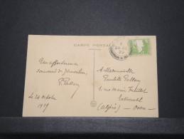 PALESTINE - Carte De Jérusalem Pour Oran Algérie - Oct 1929 -  P16807 - Palestine