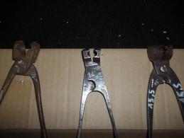 Lot De 3 Anciens Moules à Balles - Sammlerwaffen