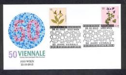 6.- AUSTRIA 2012. SPECIAL POSTMARK. 50 YEARS OF VIENNALE OF CINEMA. FILM MOVIES. - Cinéma