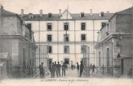 LORIENT -  La Caserne Du 62 éme D'infanterie ,( Militaires ) Edts Artaud Nozais 91 - Lorient