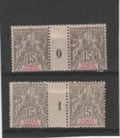 Congo-Français_  2- Millésimes N°43 (1900 /1901