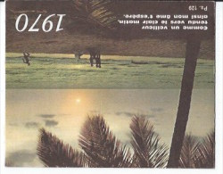 Calendrier De Poche 1970 - Petit Format : 1961-70