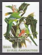 Congo 2005.1V In Block,IMP,parrot,papegaai,birds,vogels,vögel,oiseaux,pajaros,aves,MNH/Postfris(L2188) - Non Classés