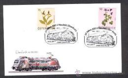 AUSTRIA 2011. SPECIAL POSTMARK. PAINTING LOCOMOTIVES - Trains