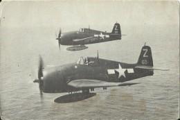 MIL447  --   USA   --  GRUMMAN F6F - 5  ,, HELLCAT ,, FIGHTER   --   ( U. S. NAVY PHOTO ) - Guerra 1939-45