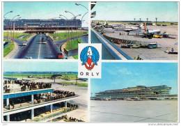 Cpm..AEROPORT DE PARIS ORLY.. A  VOIR.. - Paris Airports
