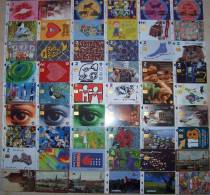 Nice Collection Of 100 Cards Cartes Karten From LATVIA Lettonie Lettland - Latvia