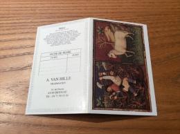 "Calendrier 1997 ""PHARMACIE A. VAN HILLE BRIOUDE (43) / BRODLEIAN LIBRARY Bélier (zodiaque)"" (10x13cm) - Small : 1991-00"