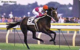 Carte Japon CHEVAL - SERIE CHEVAUX DE REVE 14/20 - RACING HORSE / DREAM HORSES SERIES Japan Fumi Card - PFERD - 283