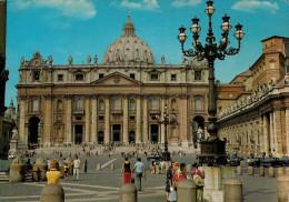 ROMA   BASILICA  DI  S. PIETRO      (VIAGGIATA) - San Pietro