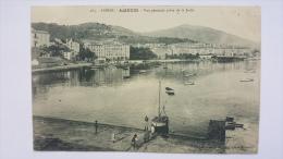 AJACCIO 20 2A Vue Generale Prise De La JETEE Port Plage Mer Corse Du Sud CPA Animee Postcard - Ajaccio